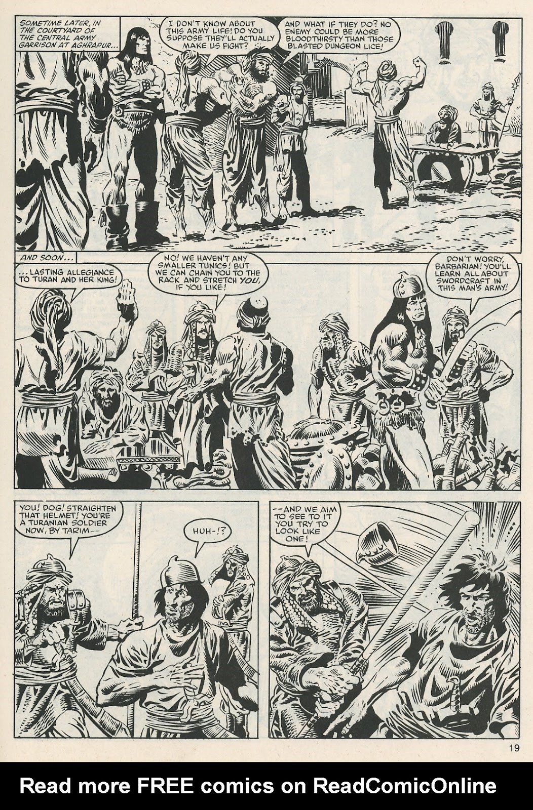 The Savage Sword Of Conan Issue #112 #113 - English 19