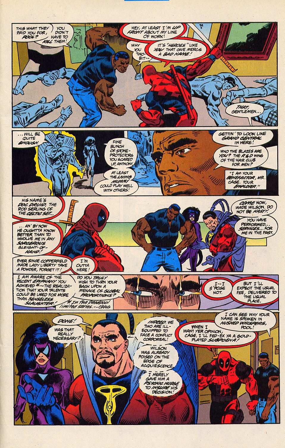Read online Secret Defenders comic -  Issue #15 - 16
