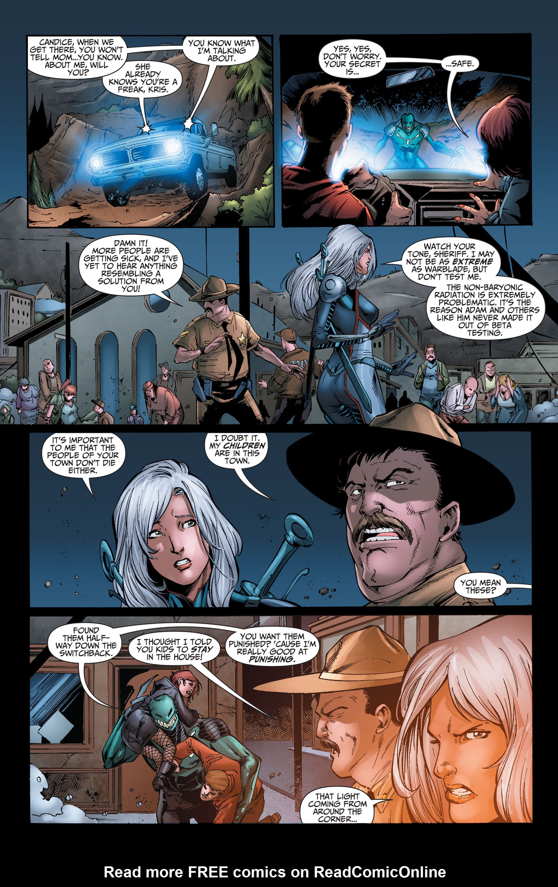 Read online The Ravagers comic -  Issue #8 - 15