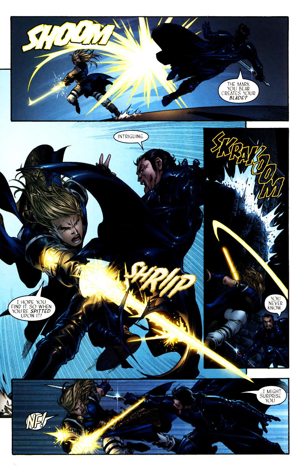 Read online Scion comic -  Issue #13 - 19