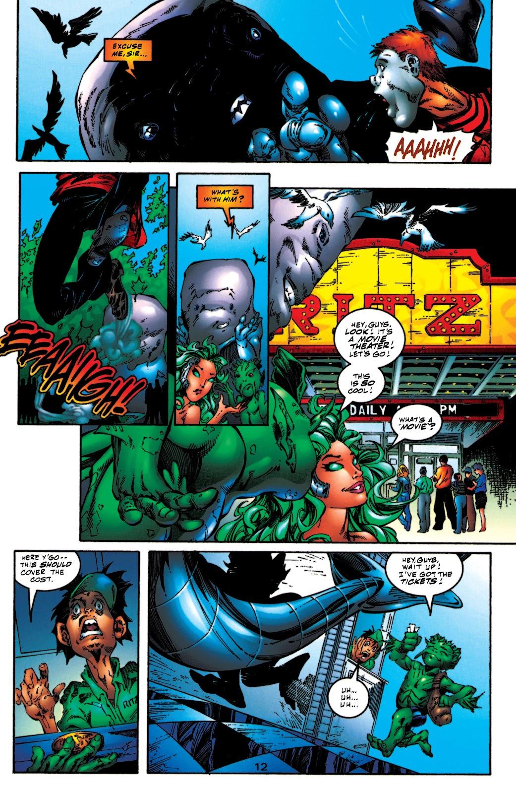 Aquaman (1994) Issue #54 #60 - English 13