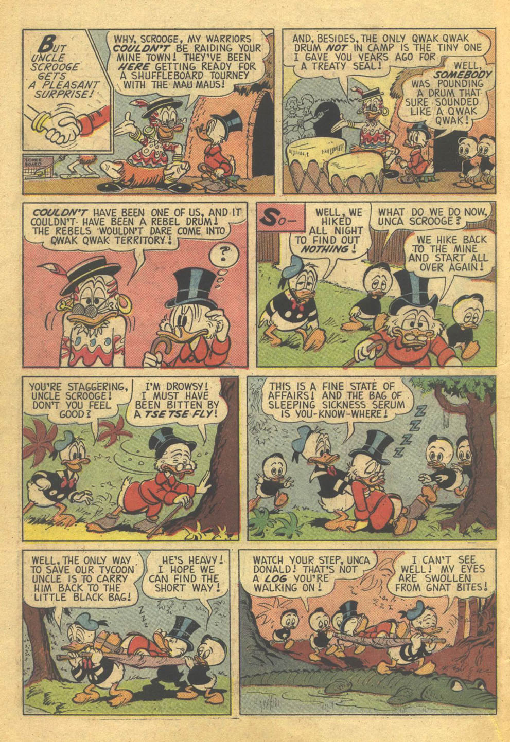 Uncle Scrooge (1953) Issue #73 #73 - English 10