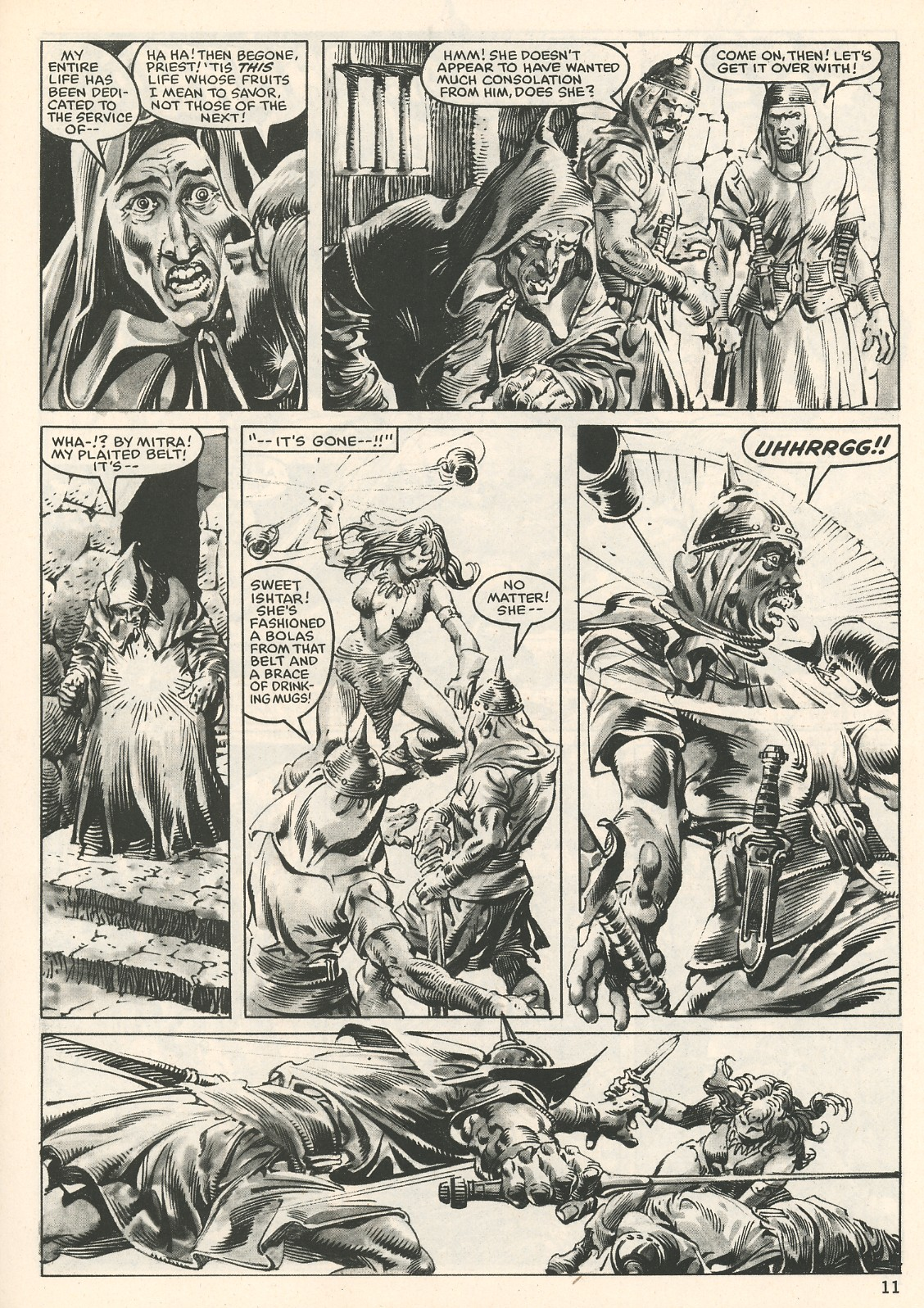 The Savage Sword Of Conan Issue #107 #108 - English 11