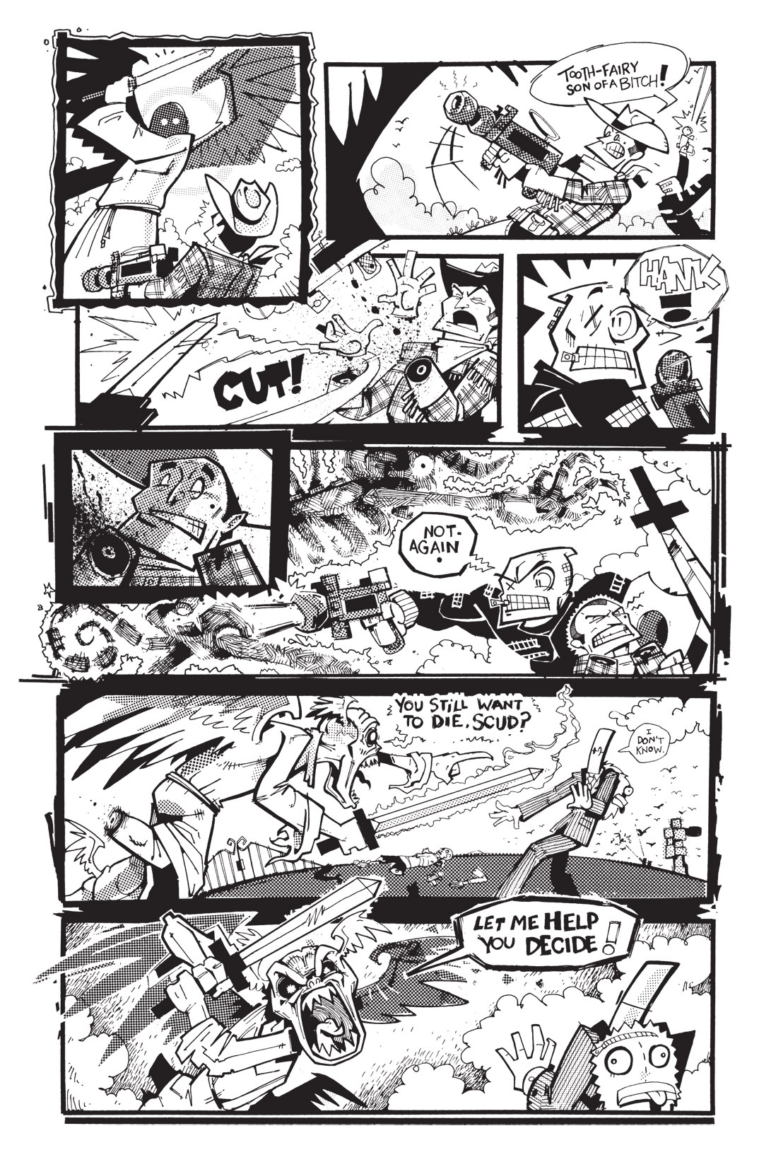 Read online Scud: The Disposable Assassin: The Whole Shebang comic -  Issue # TPB (Part 4) - 120