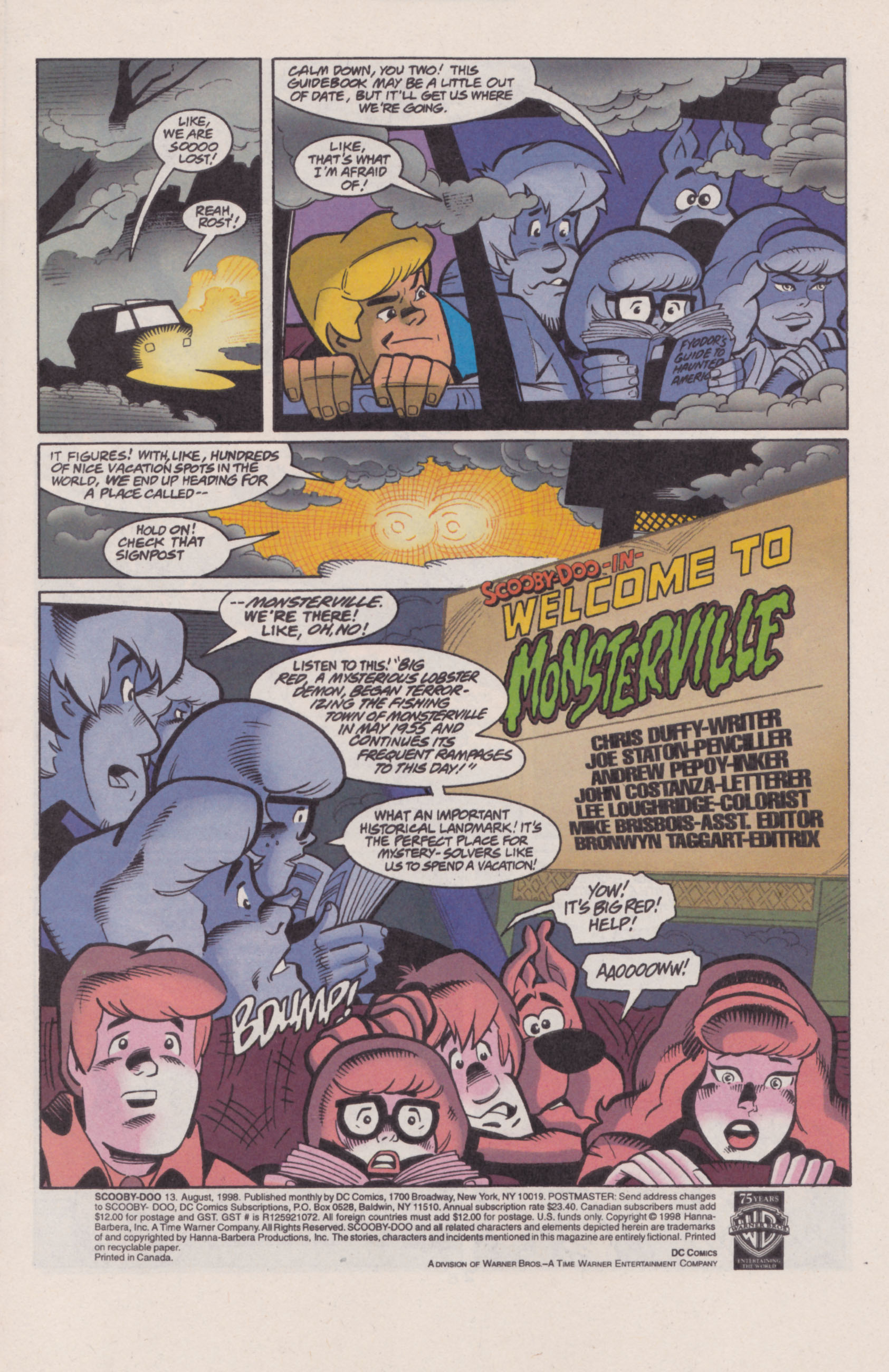 Read online Scooby-Doo (1997) comic -  Issue #13 - 2