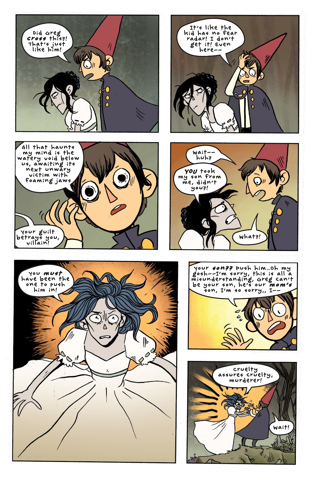 Over the Garden Wall (2016) Issue #7 #7 - English 21