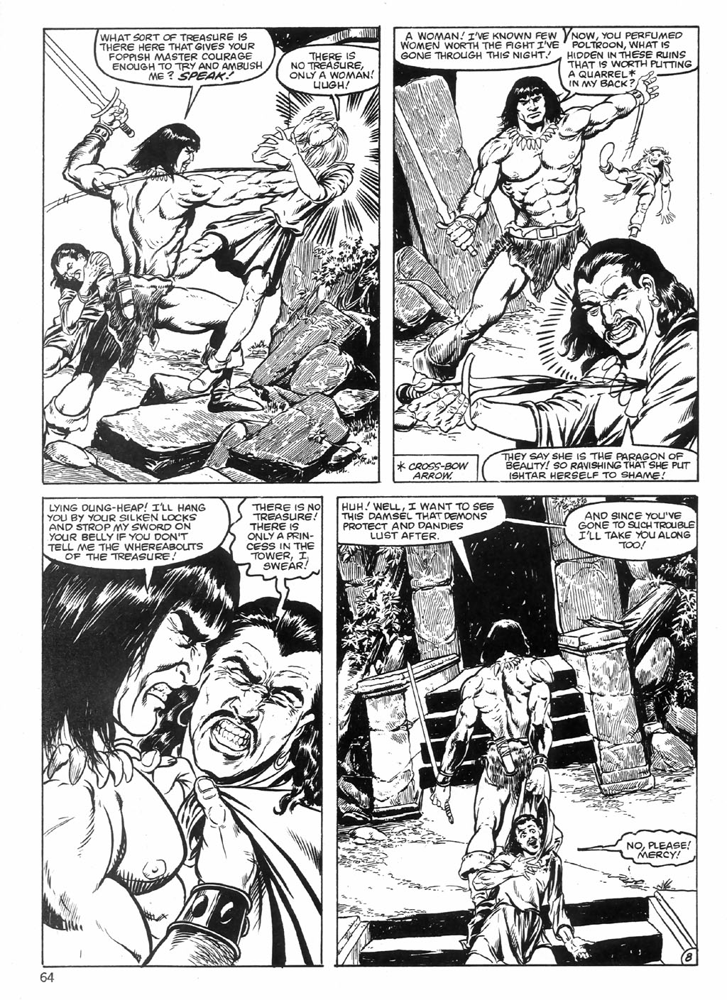 The Savage Sword Of Conan Issue #98 #99 - English 64