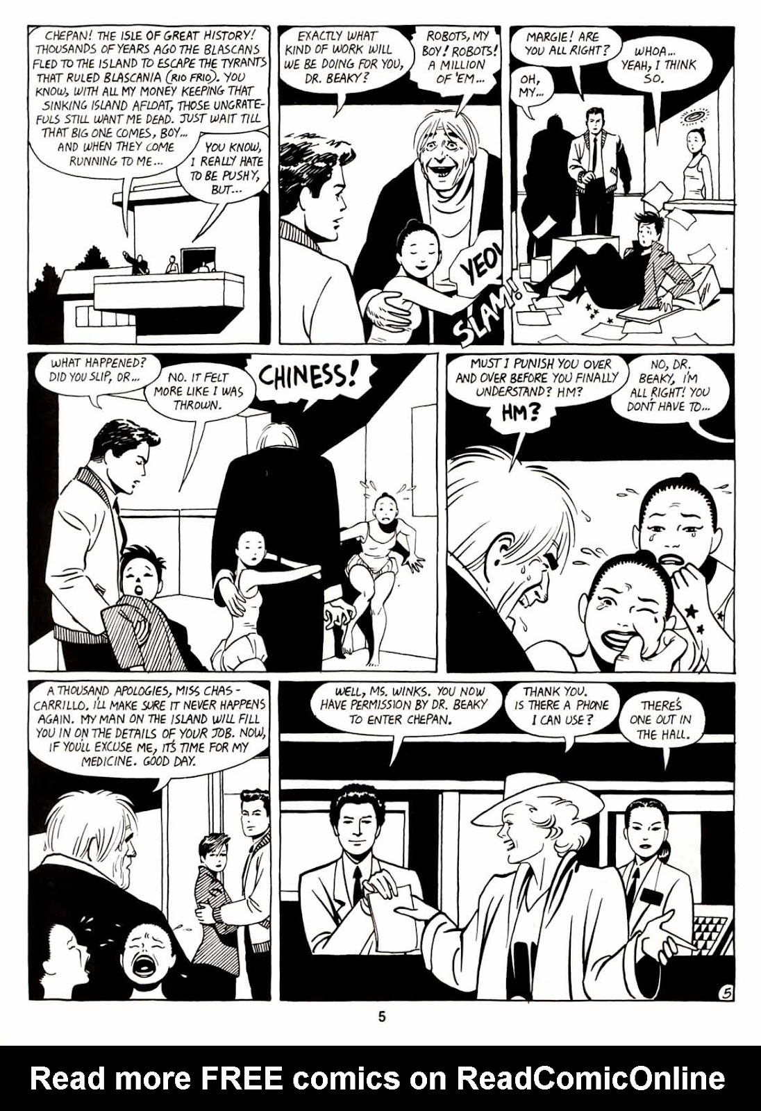 Love and Rockets (1982) Issue #7 #6 - English 7