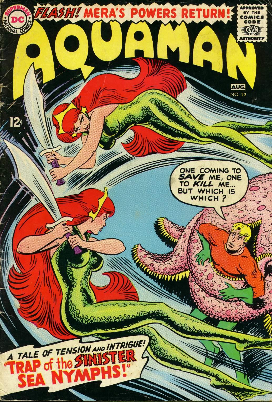 Read online Aquaman (1962) comic -  Issue #22 - 1