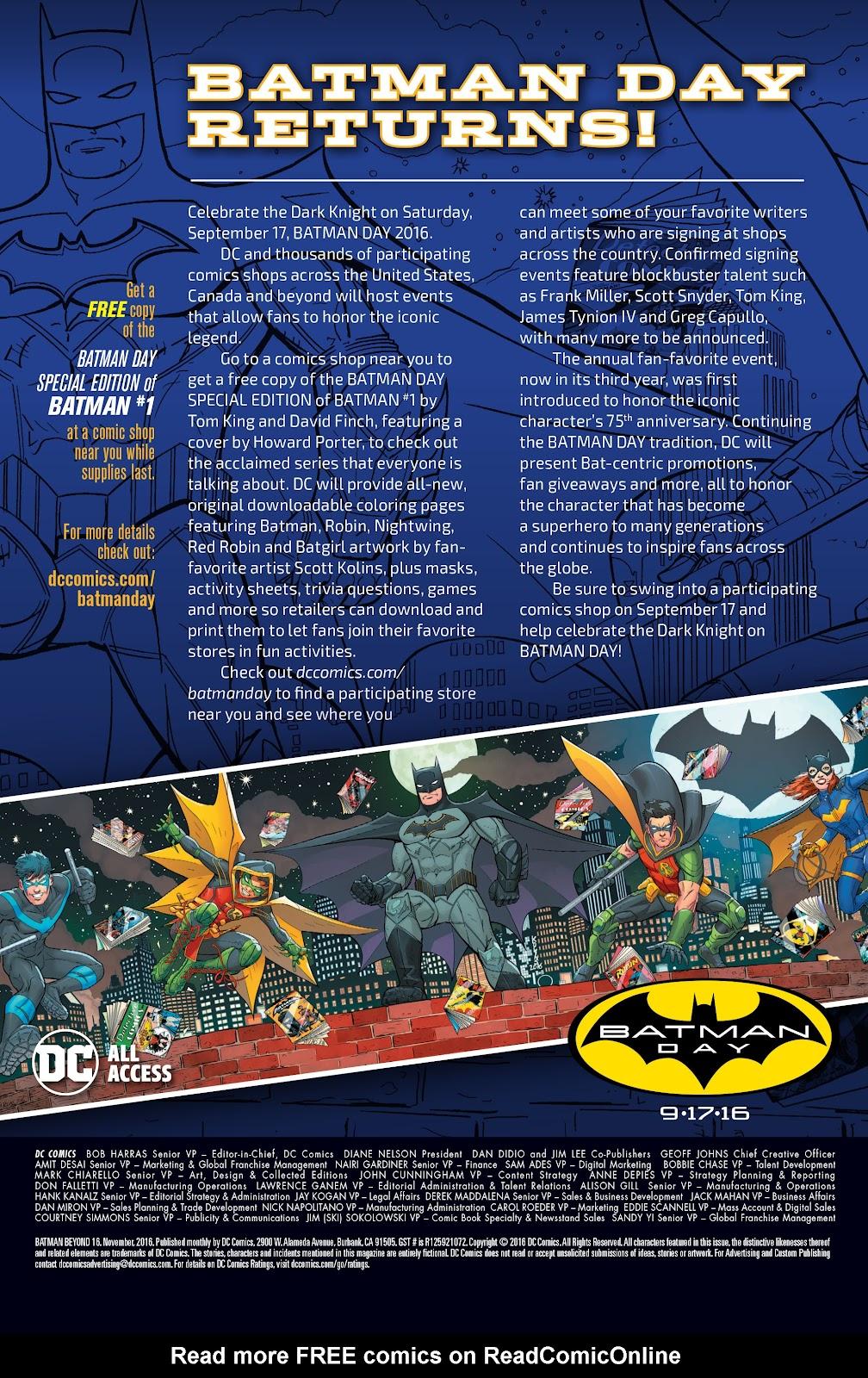 Batman Beyond (2015) Issue #16 #16 - English 24
