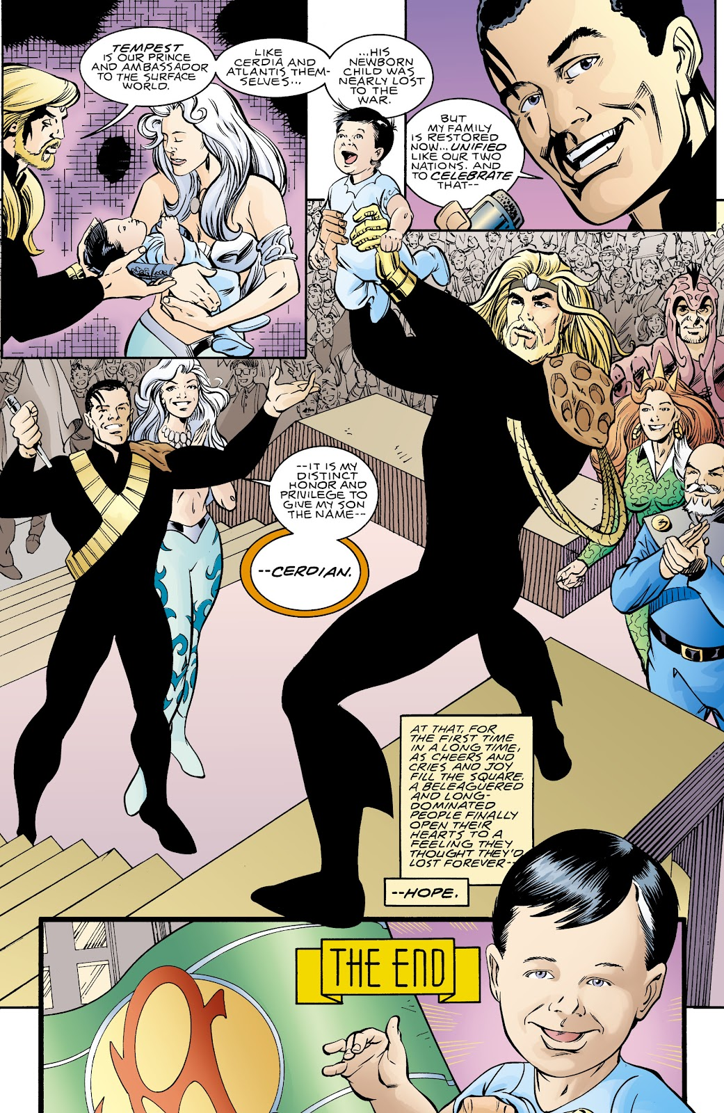 Aquaman (1994) Issue #70 #76 - English 22