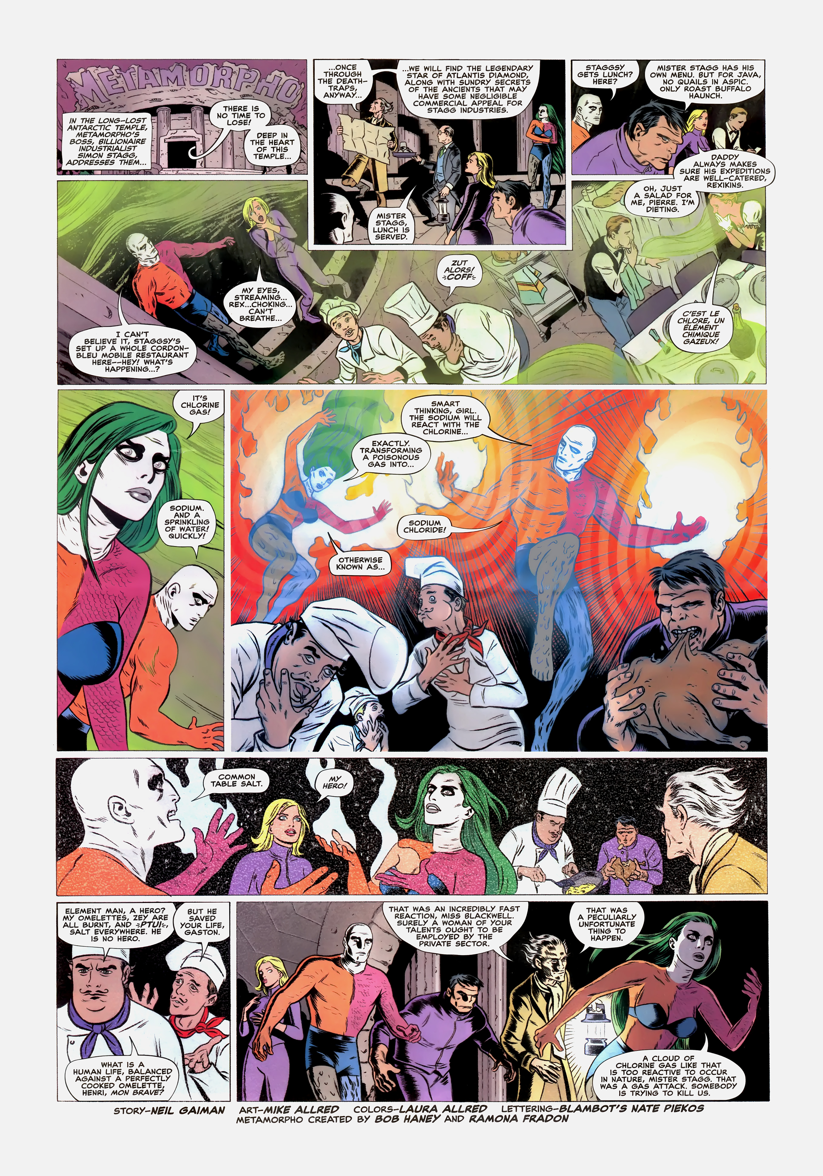 Read online Wednesday Comics comic -  Issue #5 - 7