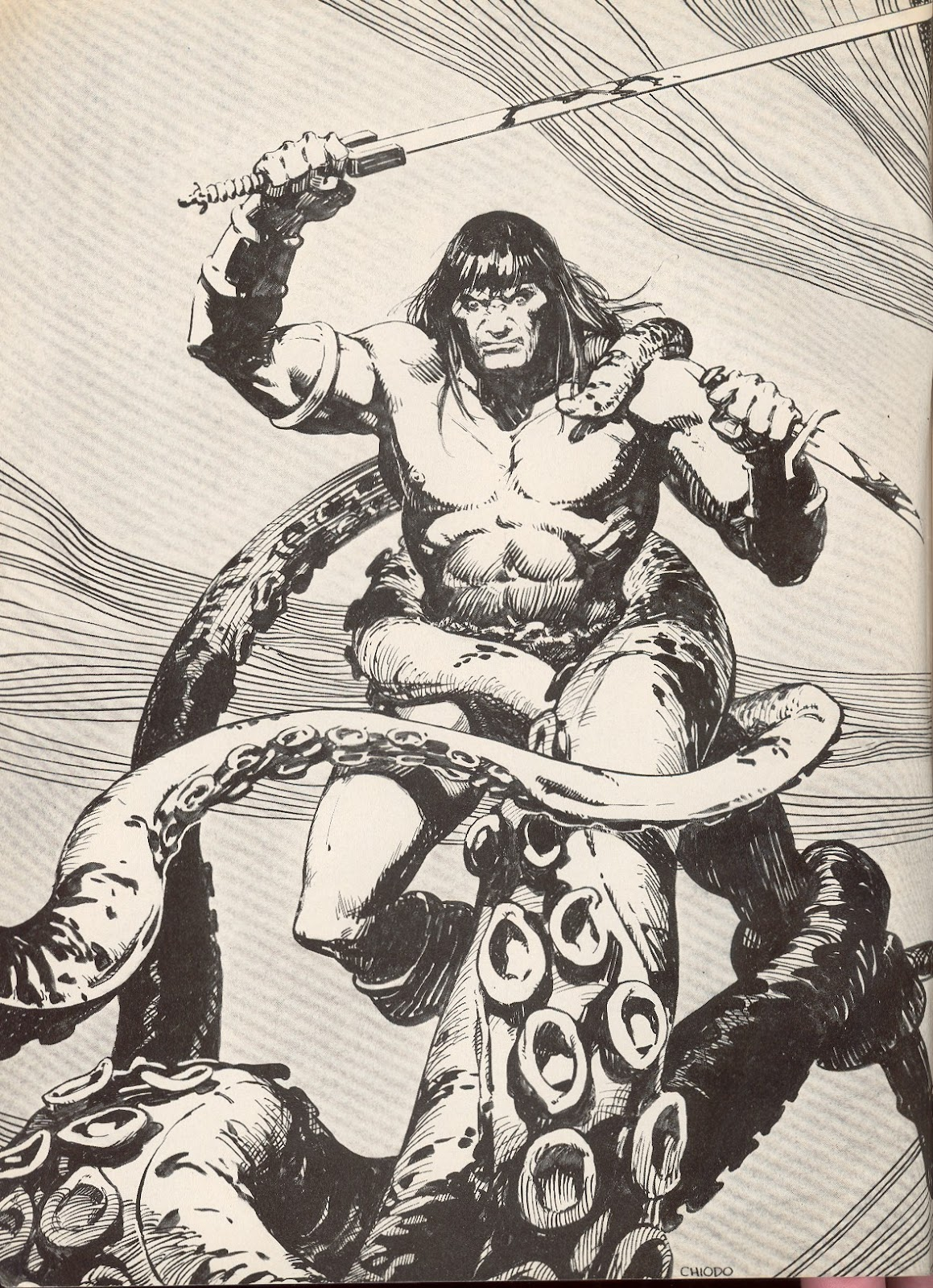 The Savage Sword Of Conan Issue #68 #69 - English 2