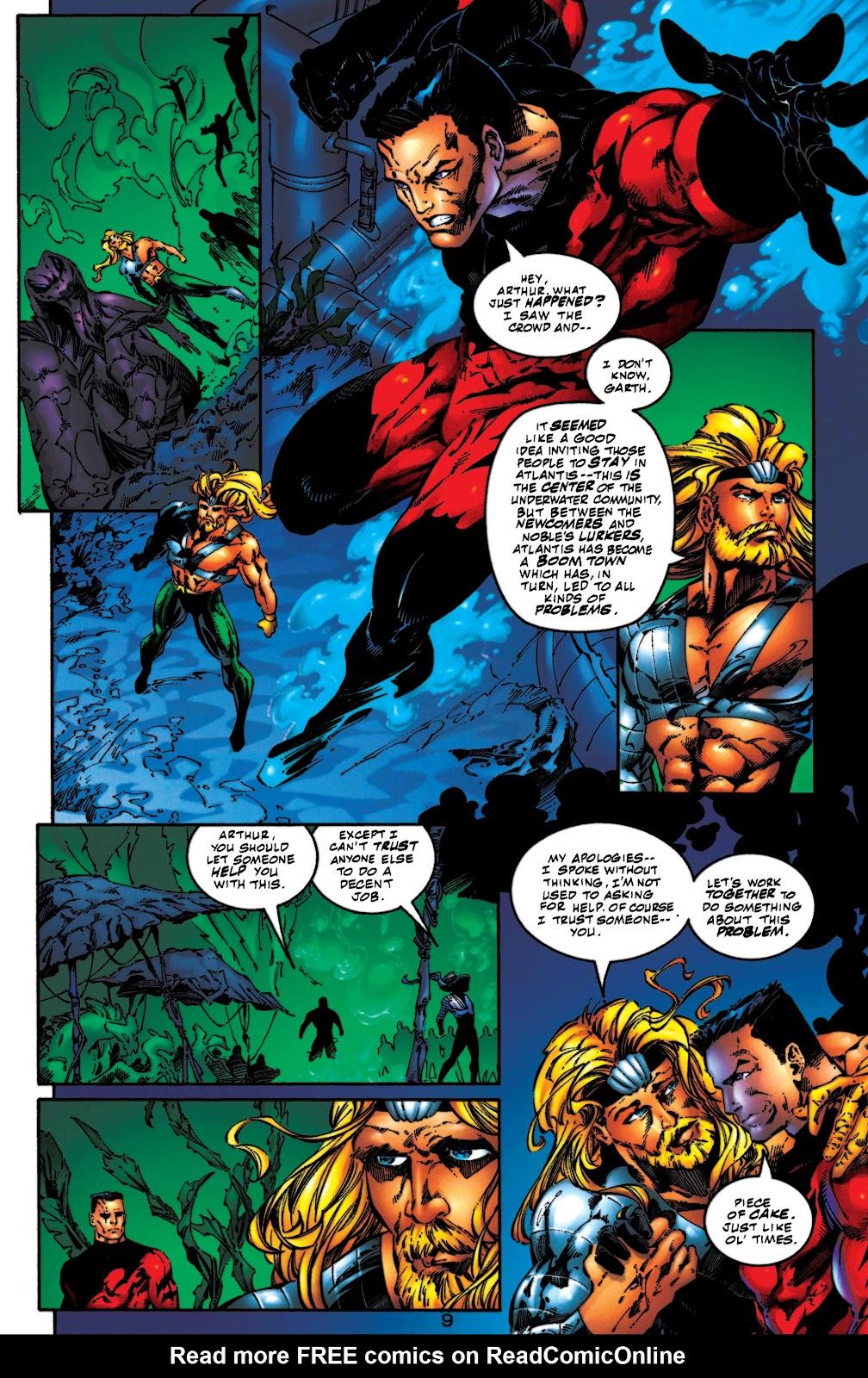 Aquaman (1994) Issue #54 #60 - English 10