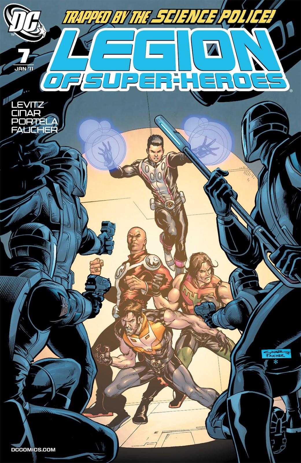 Legion of Super-Heroes (2010) Issue #7 #8 - English 1