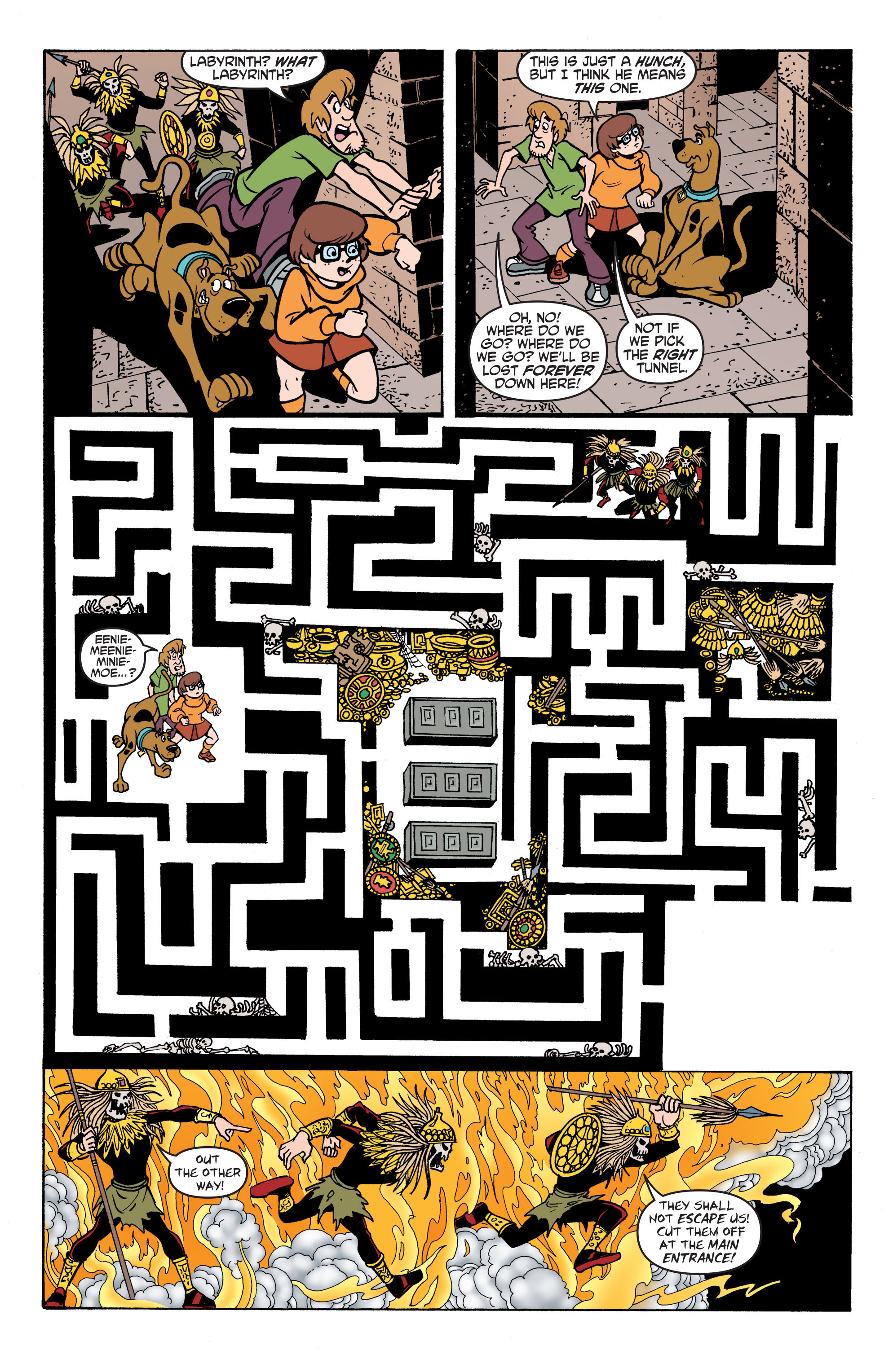 Read online Scooby-Doo: Where Are You? comic -  Issue #59 - 18