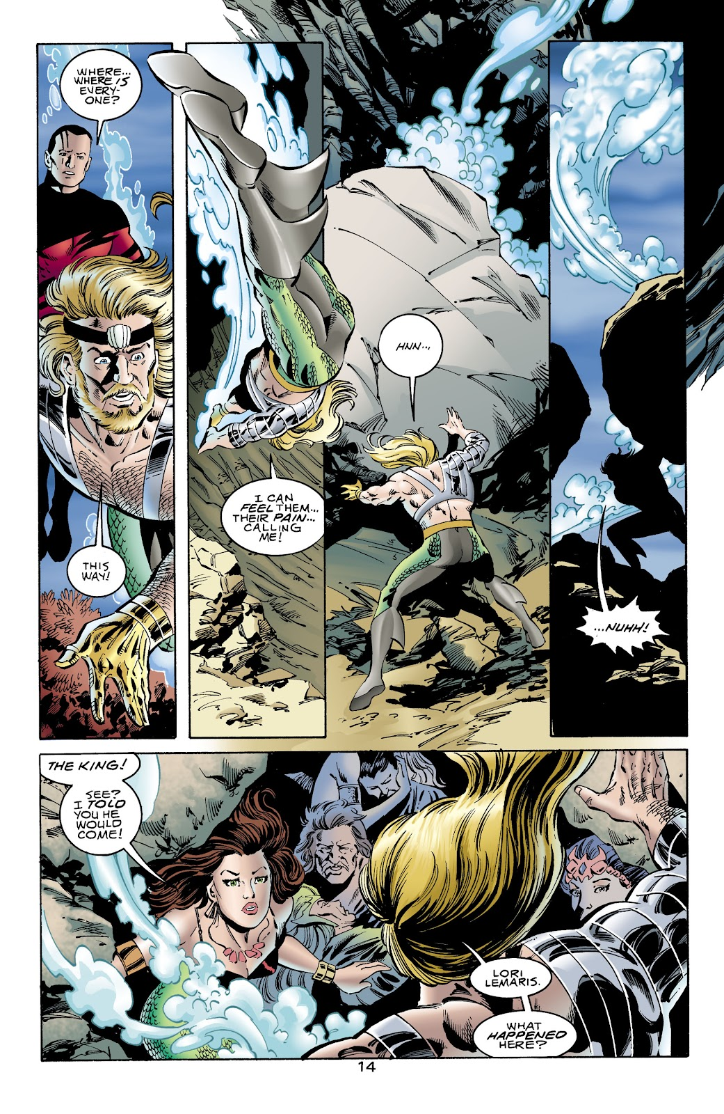 Aquaman (1994) Issue #65 #71 - English 14
