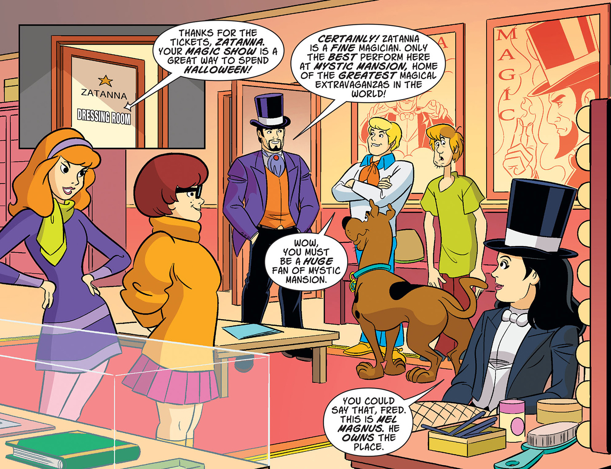 Read online Scooby-Doo! Team-Up comic -  Issue #37 - 6