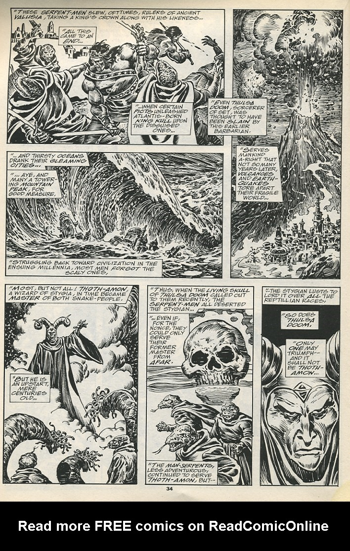 The Savage Sword Of Conan Issue #192 #193 - English 36