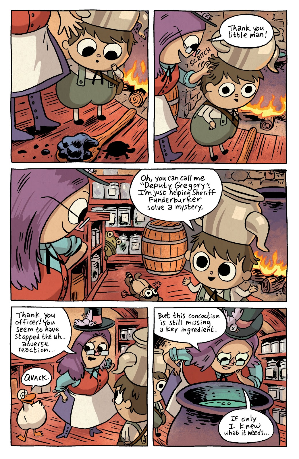 Over the Garden Wall (2016) Issue #3 #3 - English 10