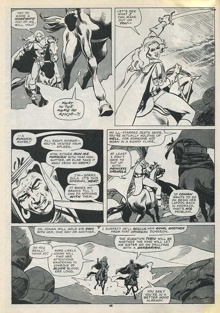 The Savage Sword Of Conan Issue #194 #195 - English 50
