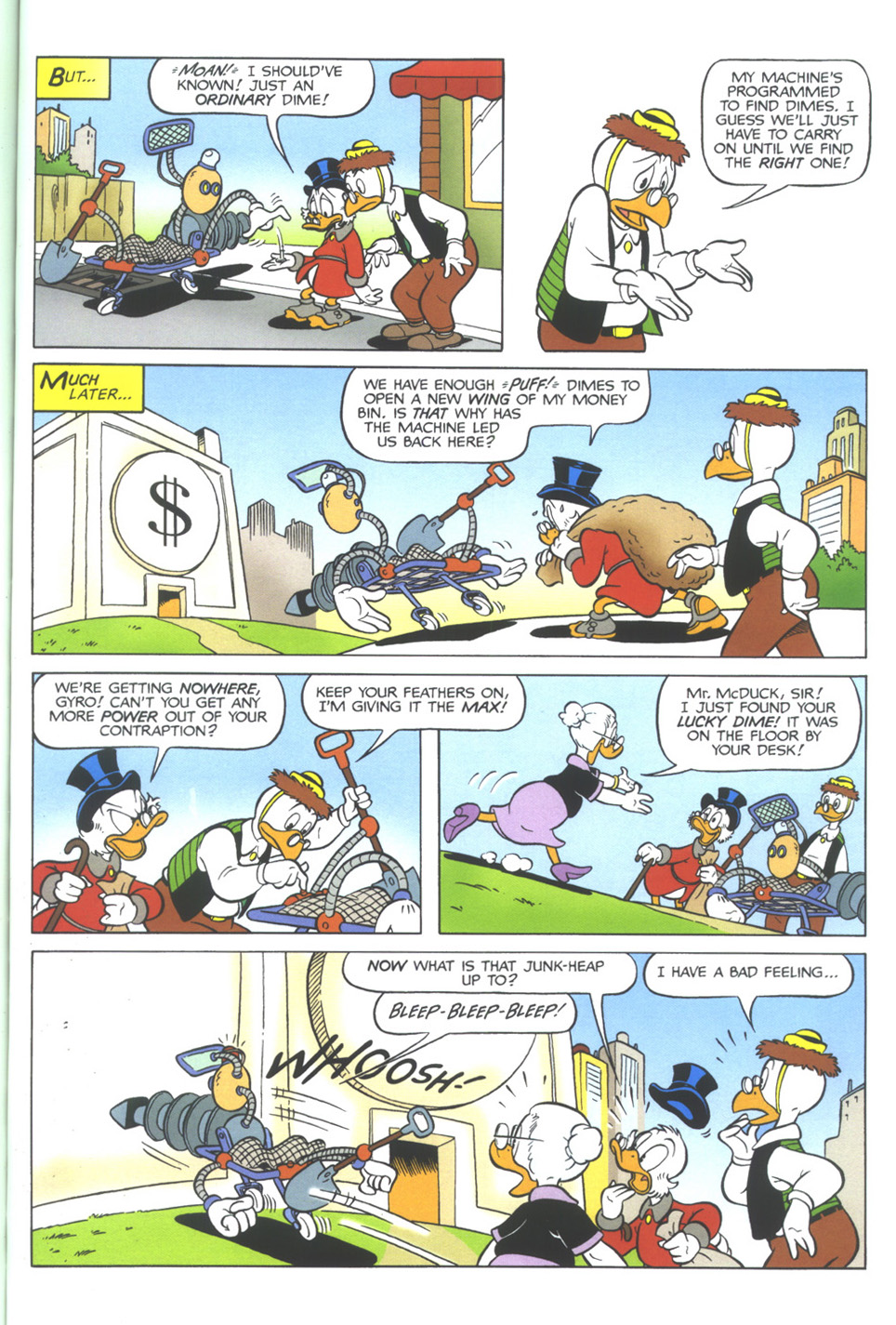 Uncle Scrooge (1953) Issue #345 #345 - English 55