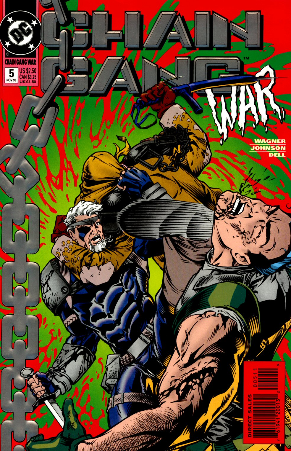 Chain Gang War 5 Page 1