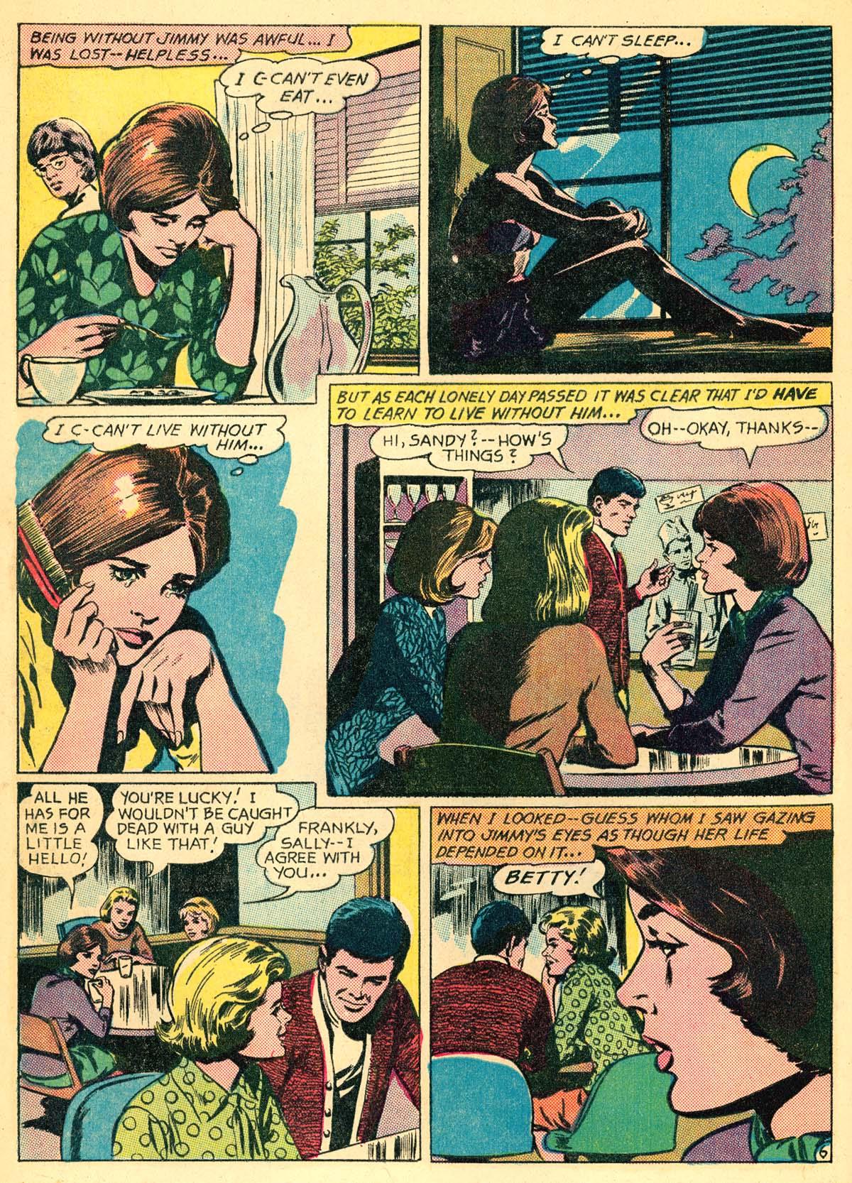 Read online Secret Hearts comic -  Issue #111 - 8