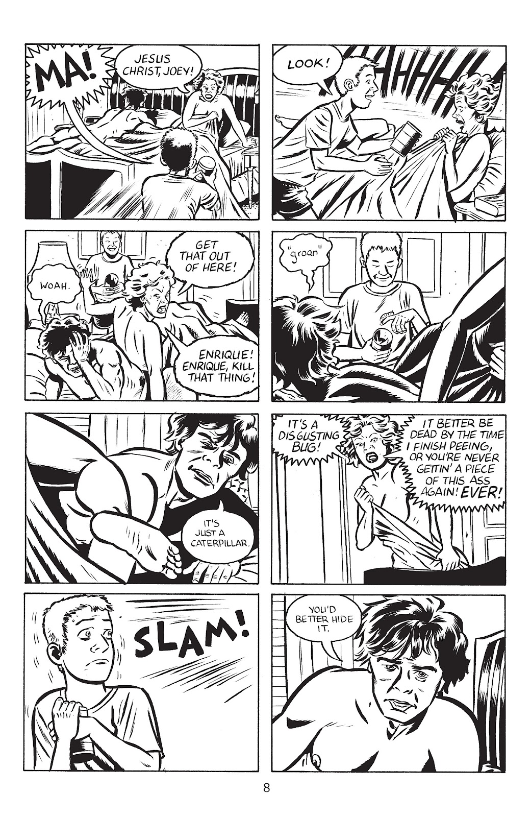 Stray Bullets Issue #28 #28 - English 10