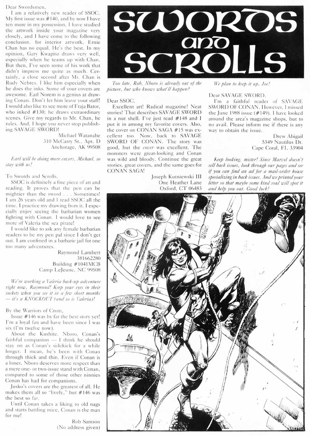 The Savage Sword Of Conan Issue #156 #157 - English 4