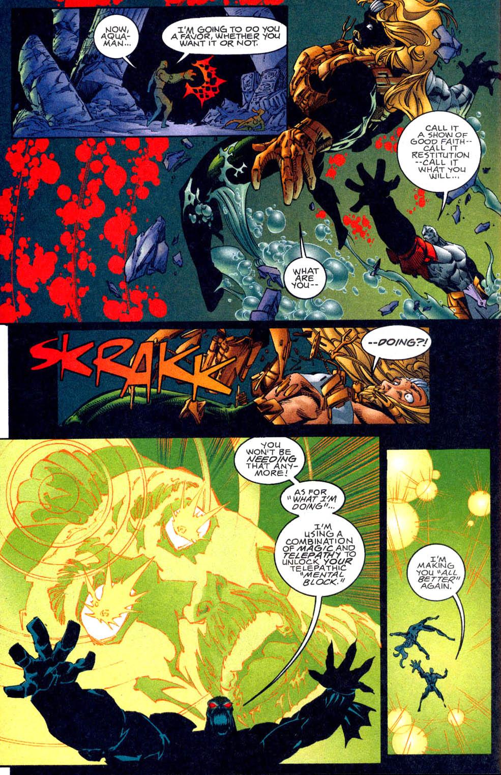 Aquaman (1994) Issue #62 #68 - English 20