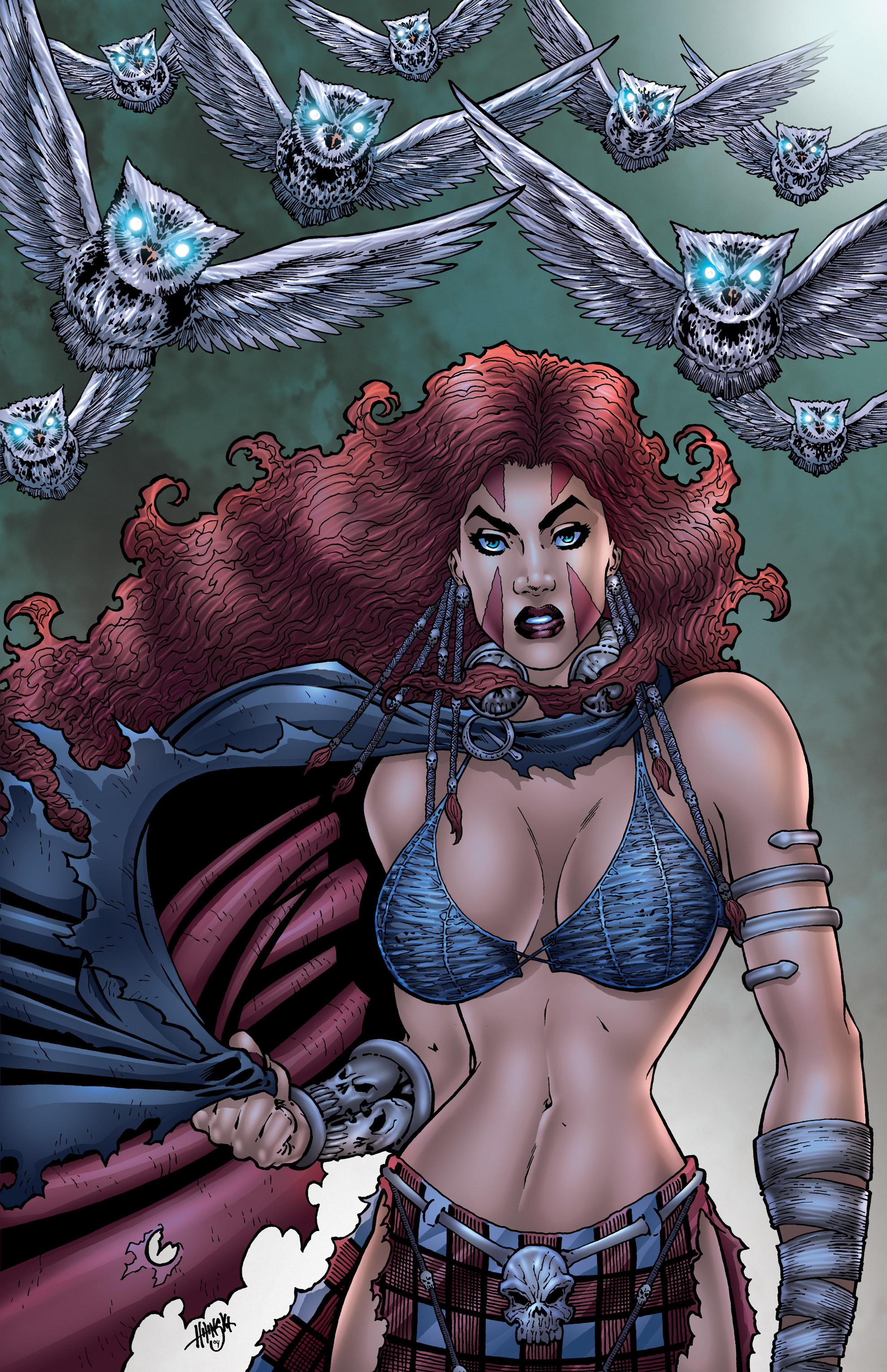 Read online Belladonna comic -  Issue #0 - 44