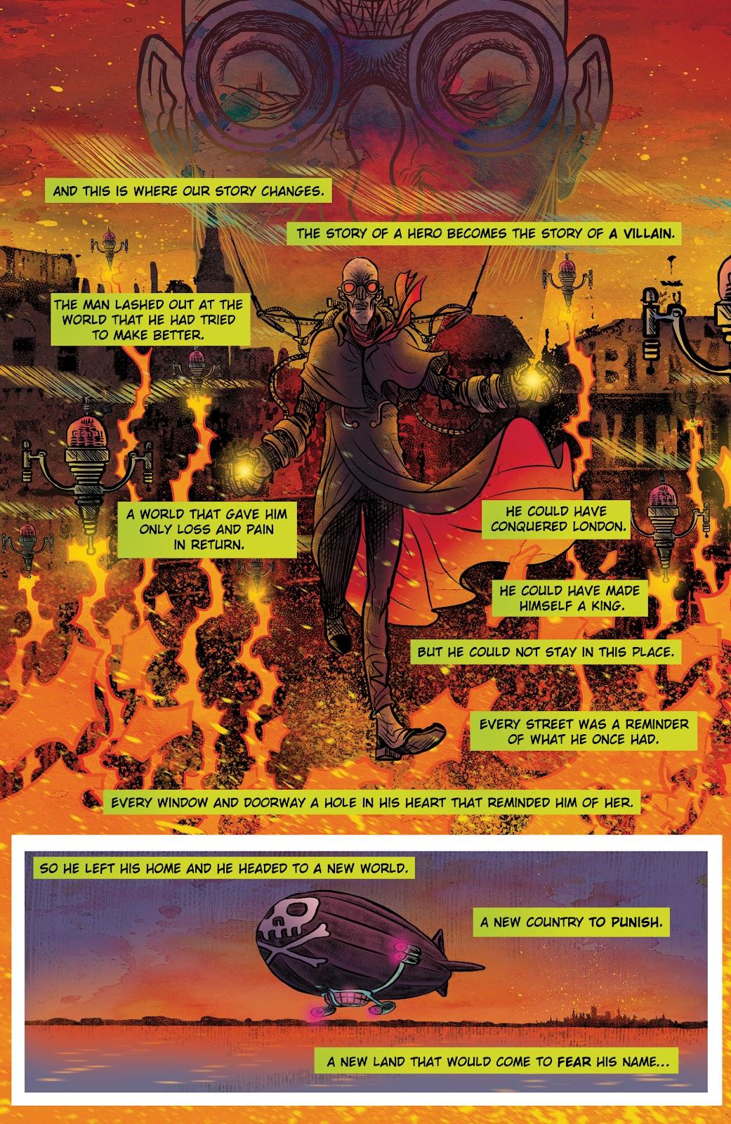 Read online Sherlock Frankenstein and the Legion of Evil comic -  Issue #4 - 6