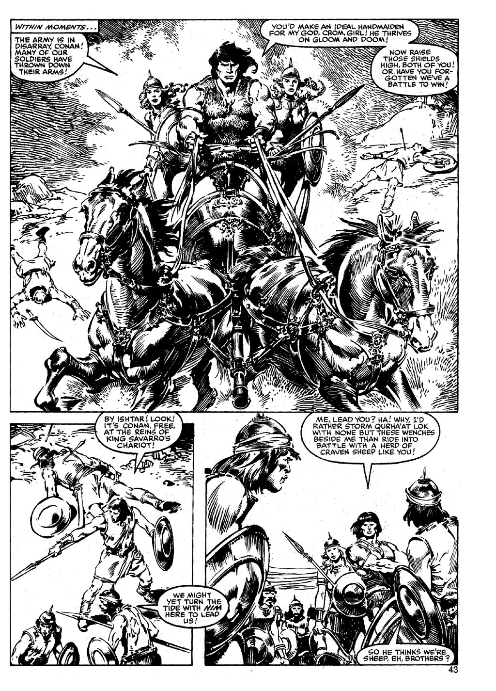 The Savage Sword Of Conan Issue #90 #91 - English 42