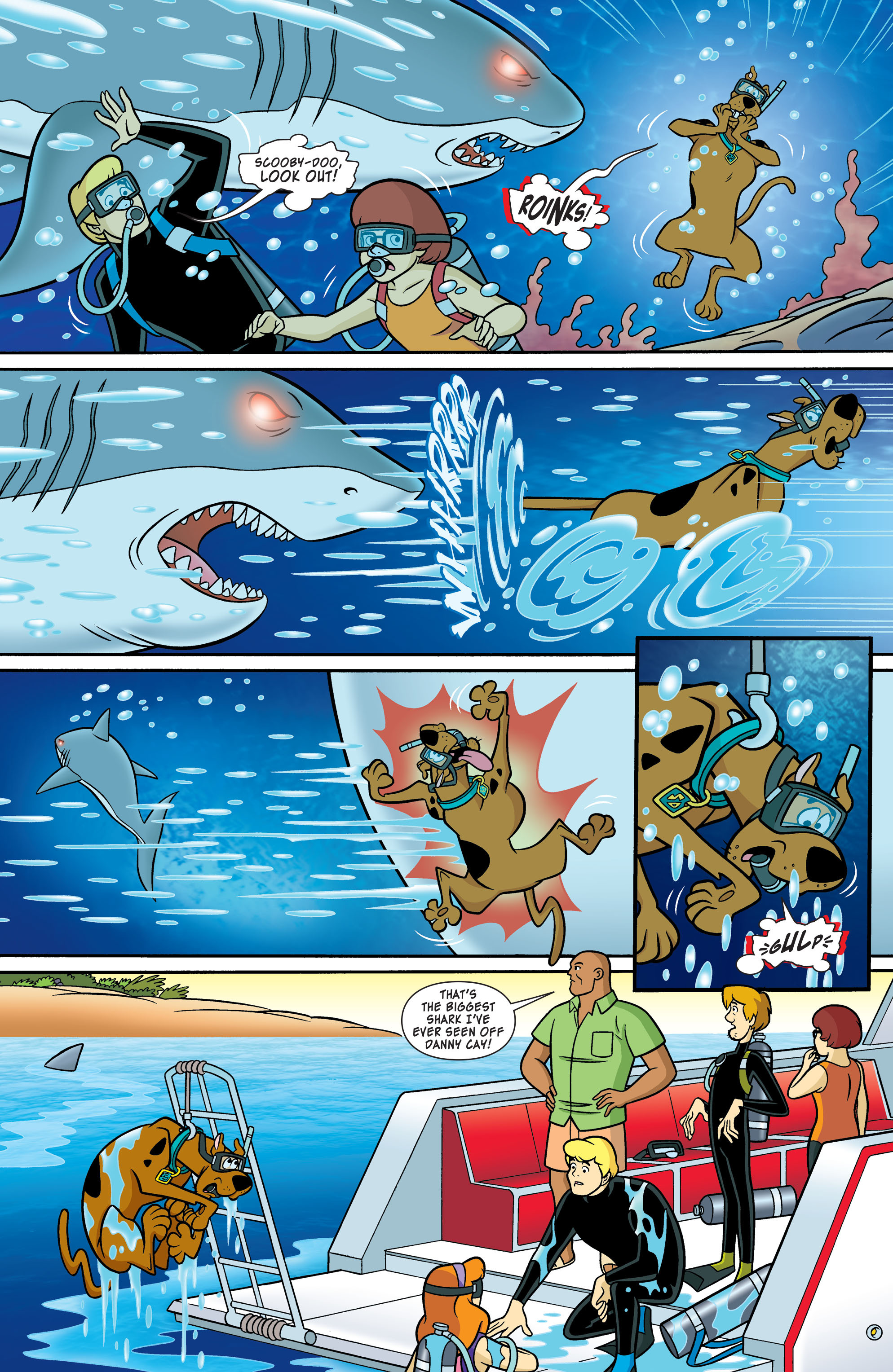 Read online Scooby-Doo: Where Are You? comic -  Issue #54 - 4