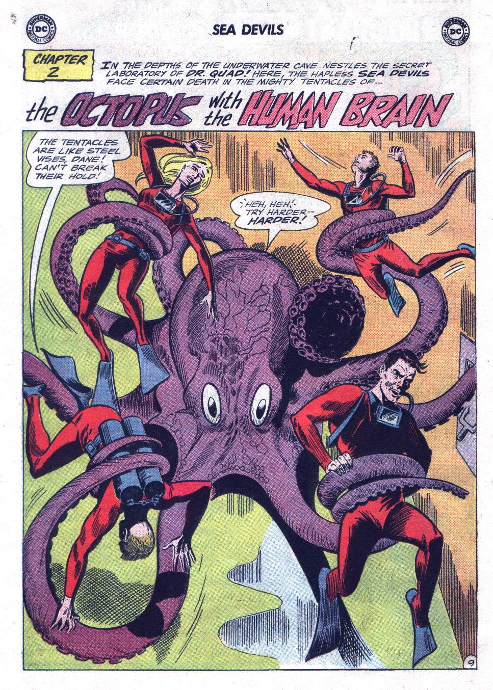Read online Sea Devils comic -  Issue #21 - 14