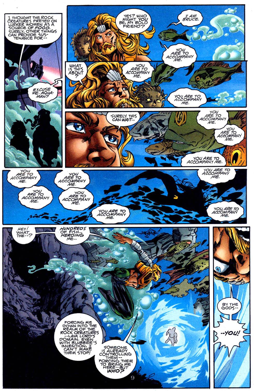 Aquaman (1994) Issue #62 #68 - English 10