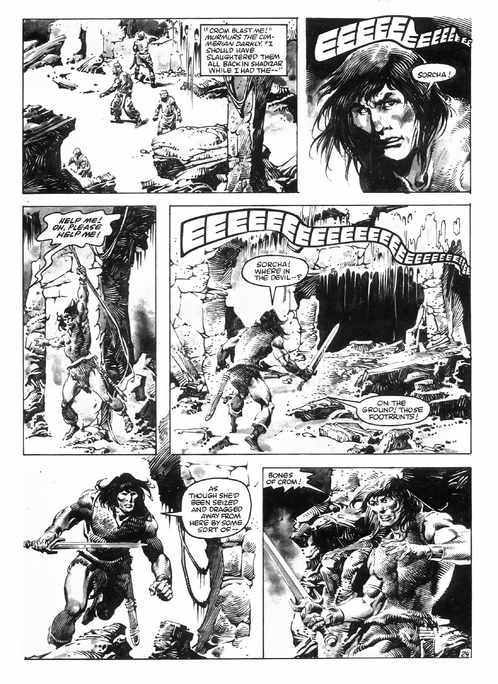 The Savage Sword Of Conan Issue #98 #99 - English 30