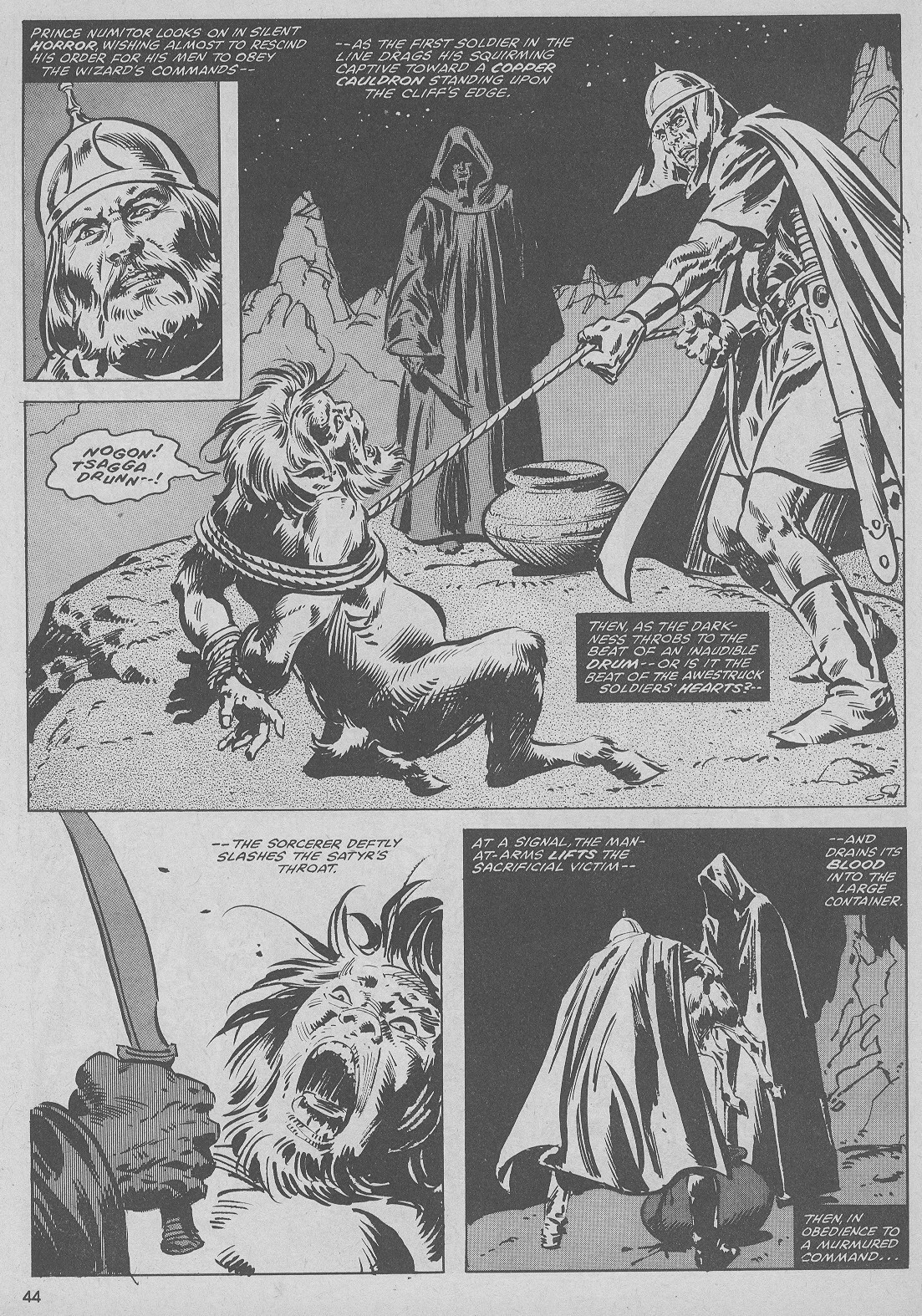 The Savage Sword Of Conan Issue #51 #52 - English 44