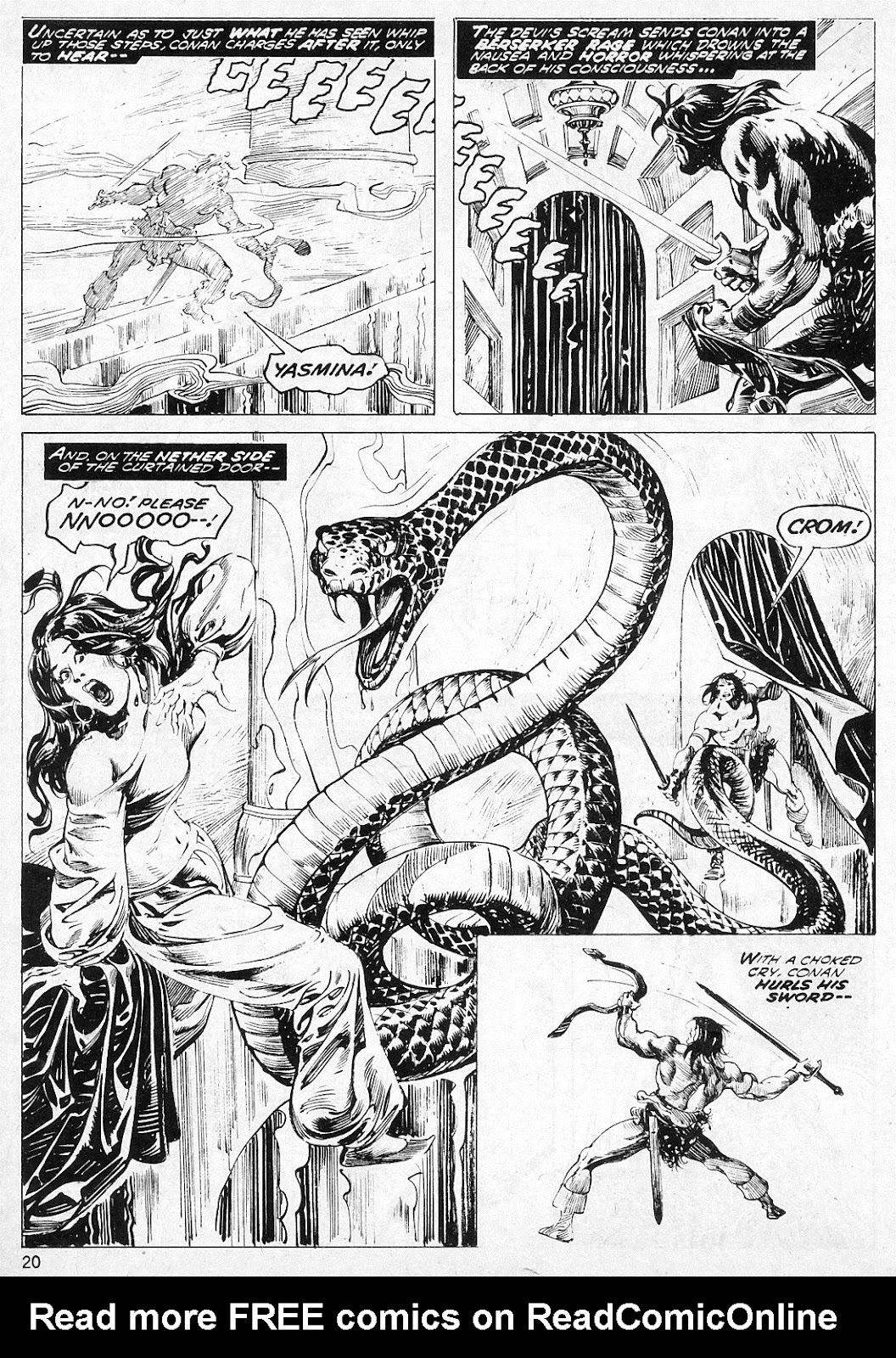 The Savage Sword Of Conan Issue #19 #20 - English 20