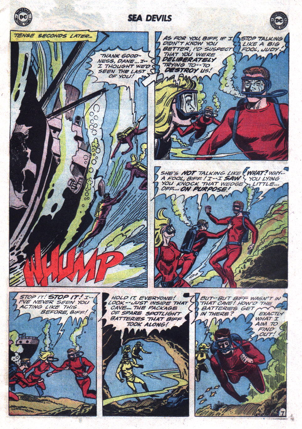 Read online Sea Devils comic -  Issue #21 - 9