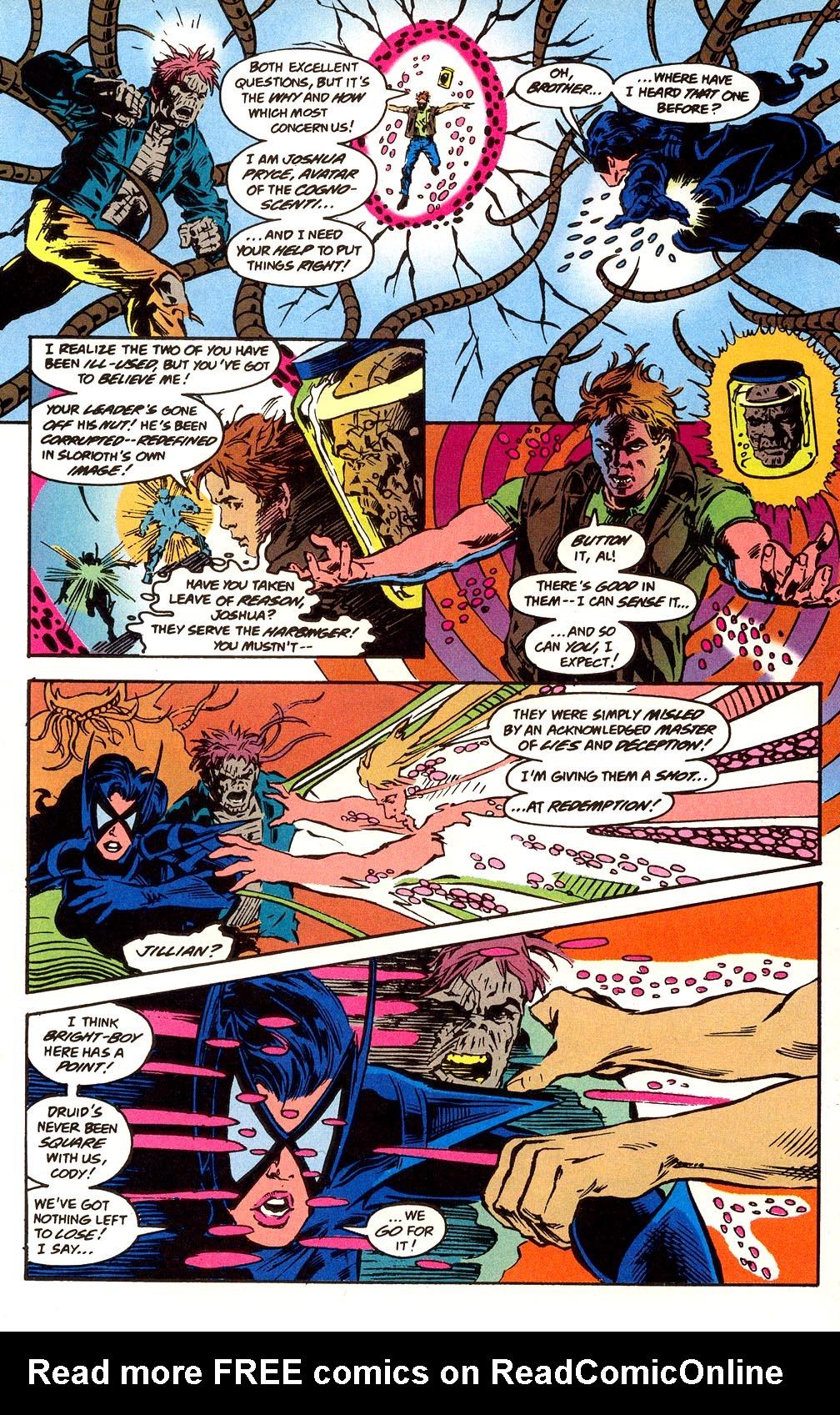 Read online Secret Defenders comic -  Issue #25 - 17