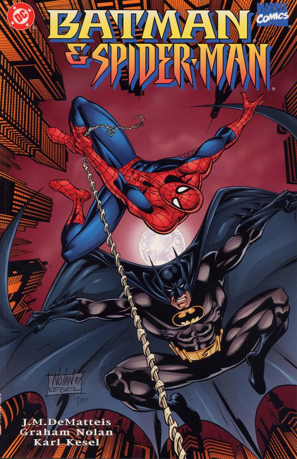 Batman/Spider-Man Full Page 1