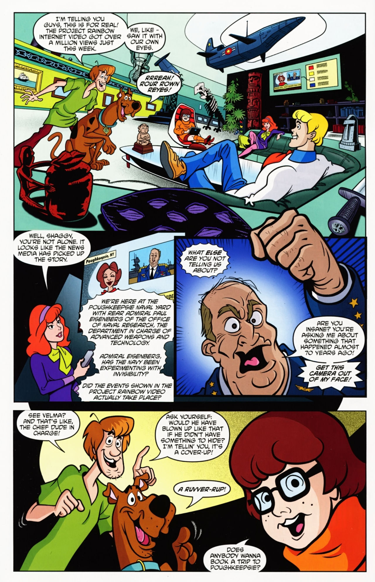 Read online Scooby-Doo: Where Are You? comic -  Issue #11 - 4