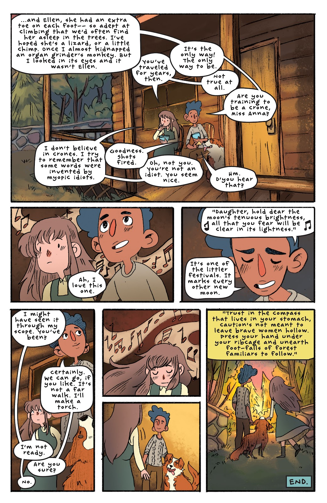 Over the Garden Wall (2016) Issue #4 #4 - English 24