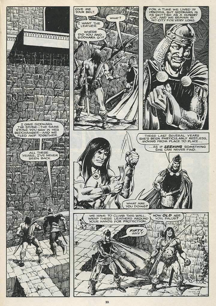 The Savage Sword Of Conan Issue #174 #175 - English 35