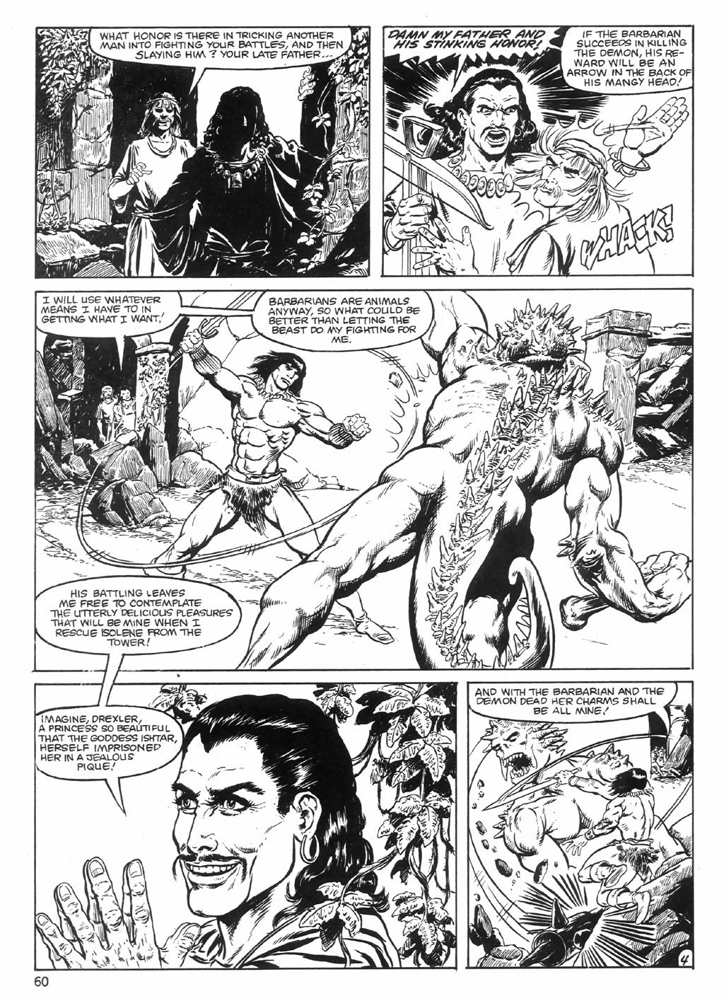 The Savage Sword Of Conan Issue #98 #99 - English 60