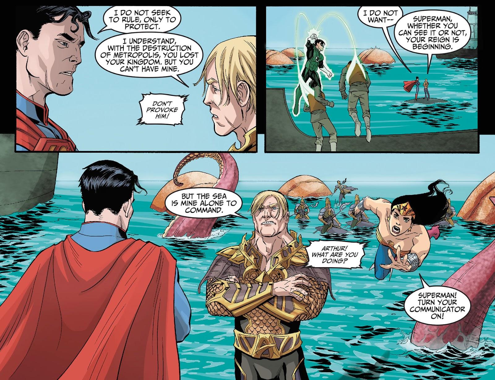 Injustice: Gods Among Us [I] Issue #12 #13 - English 8