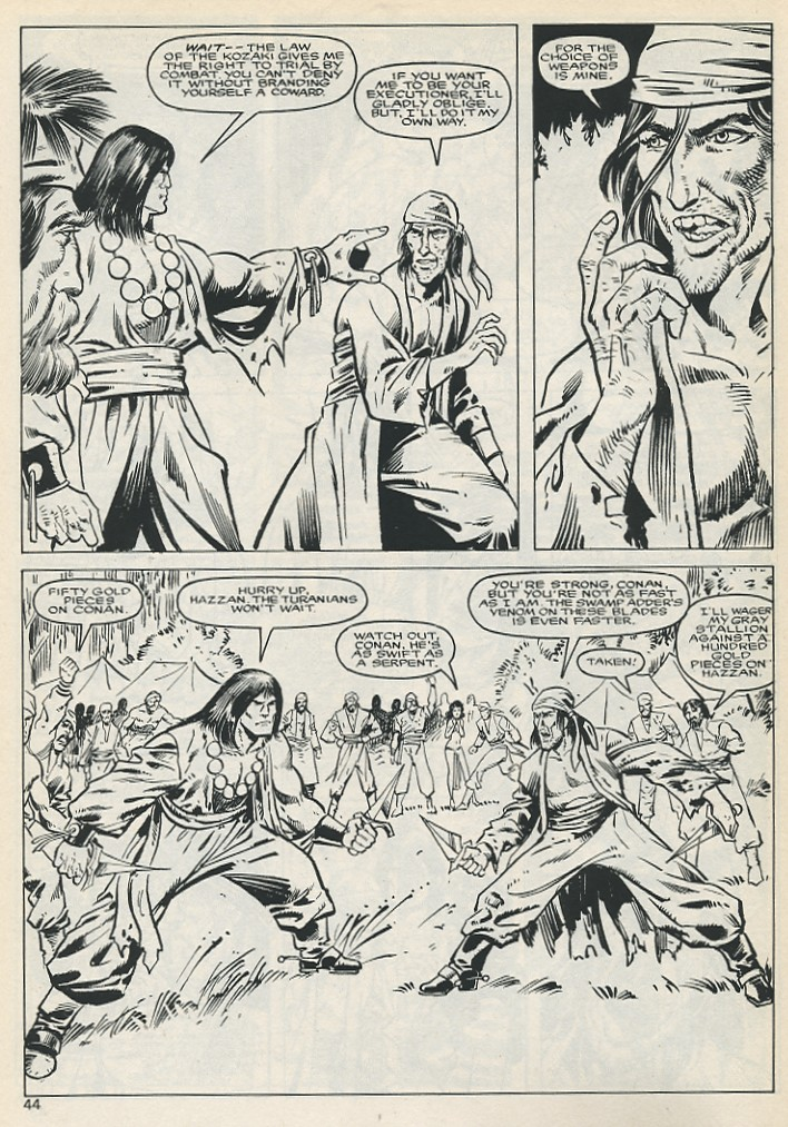 The Savage Sword Of Conan Issue #131 #132 - English 44