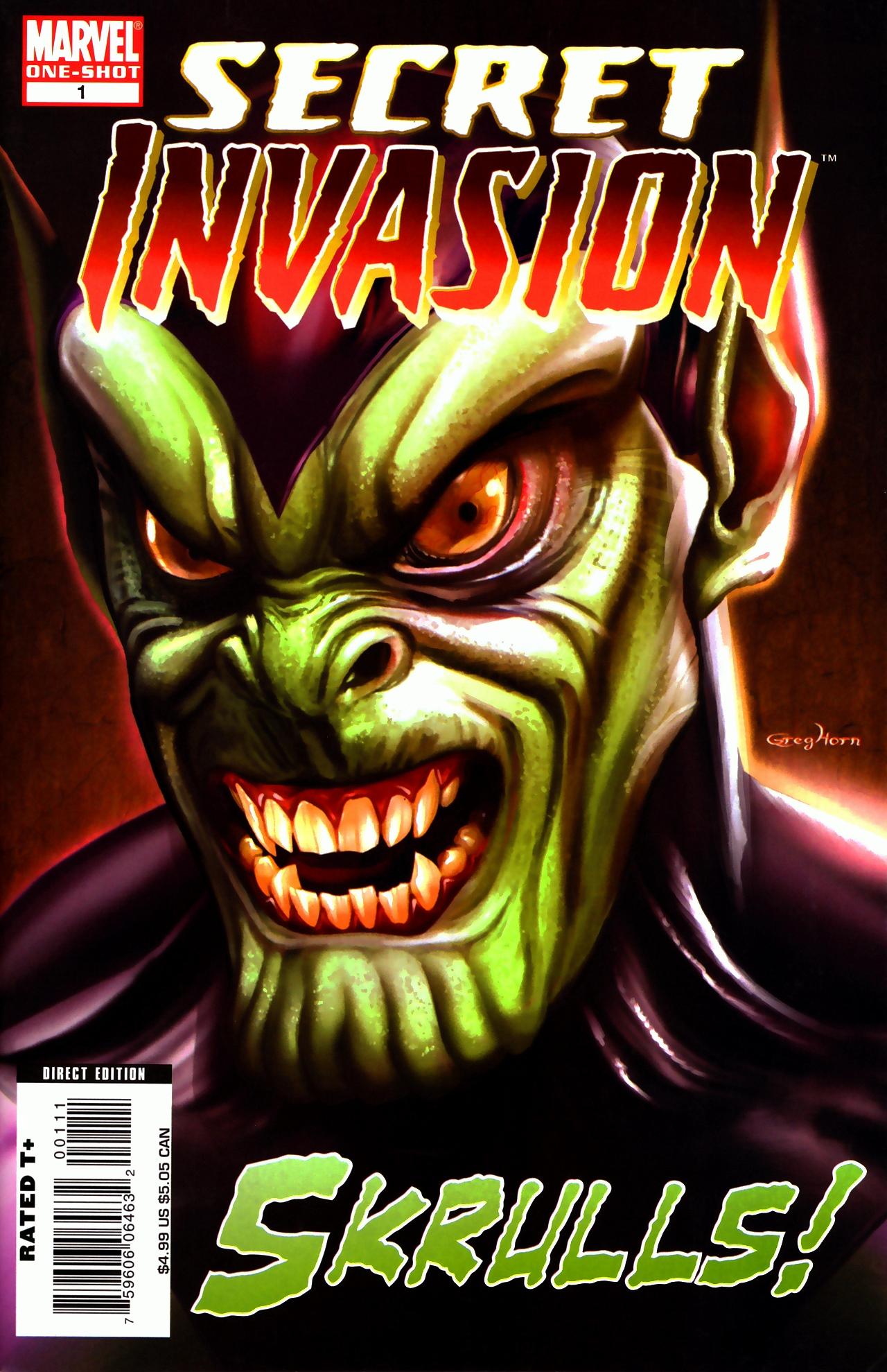 Read online Skrulls! comic -  Issue # Full - 1